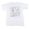 Girl Paint It Black S/S - White - Men's T-Shirt