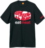 Enjoi Eat Meat Premium S/S - Black - Men's T-Shirt