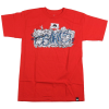 Osiris Faces S/S - Red - Men's T-Shirt