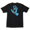 Santa Cruz Screaming Hand Regular S/S - Black - Mens T-Shirt