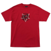 Santa Cruz Merciful Dot Regular S/S - Red - Mens T-Shirt