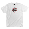 Santa Cruz Merciful Dot Regular S/S - White - Mens T-Shirt