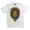 Santa Cruz Lion Rasta Regular S/S - White - Men's T-Shirt