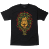 Santa Cruz Lion Rasta Regular S/S - Black - Men's T-Shirt