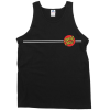 Santa Cruz Classic Dot Regular Tank - Black - Men's Tank Top