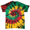 Santa Cruz Classic Dot Regular S/S - Rasta Web - Men's T-Shirt