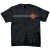 Santa Cruz Classic Dot Regular S/S - Spider Black - Men's T-Shirt
