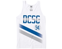 DC Tanker Tank - White - Men's Tank Top