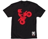 DC TC Lone Rider S/S - Black - Men's T-Shirt