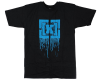 KR3W Drip S/S - Black/Turquoise - Men's T-Shirt