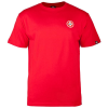 Bones Bearings Small Swiss Logo S/S - Red - Men's T-Shirt