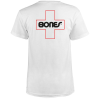 Bones Bearings Swiss Outline Pocket S/S - White - Men's T-Shirt