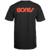 Bones Bearings Swiss Text T-Shirt S/S - Black - Men's T-Shirt
