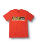 Quiksilver Drawing Near Slim Fit T-Shirt - Orange - Mens T-Shirt