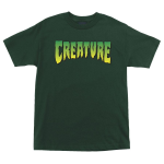 Creature Logo Regular S/S - Hunter Green - Mens T-Shirt