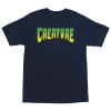 Creature Logo Regular S/S - Navy - Mens T-Shirt