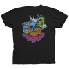 Deathwish Blacklight S/S - Black - Men's T-Shirt