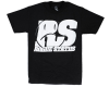 Rogue Status Motoshot S/S - Black/White - Men's T-Shirt