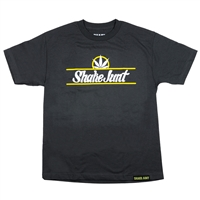 Shake Junt Pure Bud - Charcoal/White - Men's T-Shirt