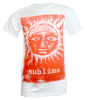 Sublime Band Orange Sun Glow - White - Band T-Shirt
