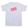 Birdhouse Drip - White/Pink - Medium T-shirt
