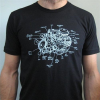 Slow Loris Auto Engine Diagram T-Shirt - Black - Mens T-Shirt