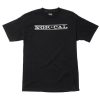Nor Cal Original Logo Regular S/S - Black - Men's T-Shirt