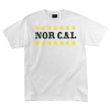 Nor Cal Slacker Regular S/S - White - Men's T-Shirt