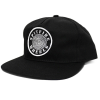 Spitfire OG Swirl Adjustable Snapback - Black/White - Men's Hat