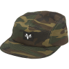 Venture Adjustable Mainstay 5 Panel Strapback - Camo Twill - Men's Hat