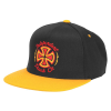 Independent Voltage FlexFit One Ten Snapback - Black/Orange - Men's Hat