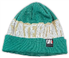 Girl Big Weave - Teal/Cream - Men's Beanie