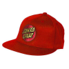 Santa Cruz Classic Dot Flexfit??? Fitted Stretch Hat - Red - Small/Medium