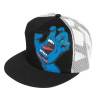 Santa Cruz Screaming Hand Trucker Mesh Hat - Black/White