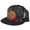 Santa Cruz Classic Dot Trucker Mesh - Black/Tie Dye - Men's Hat
