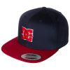 DC Snappy Snapback - Blue/Blue/Red XBBR - Men's Hat