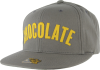 Chocolate League Starter Snapback - Grey/Yellow - Men's Hat