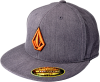 Volcom 2Stone 210 Fitted Hat - Charcoal/Orange - Men's Hat