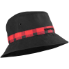 Bones Bearing Swiss Plaid Bucket - Black/Red - Men's Hat