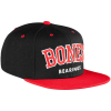 Bones Bearing Emphasis Snapback - Black/Red - Men's Hat