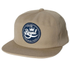 Royal Seal Unstructured Snapback - Khaki - Men's Hat