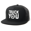 Royal Truck You Mesh Snapback - Black/Black - Men's Hat