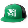 Royal Truck You Mesh Snapback - Kelly Green/Black - Men's Hat