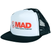 Deathwish MAD Mesh Trucker - White/Black - Men's Hat