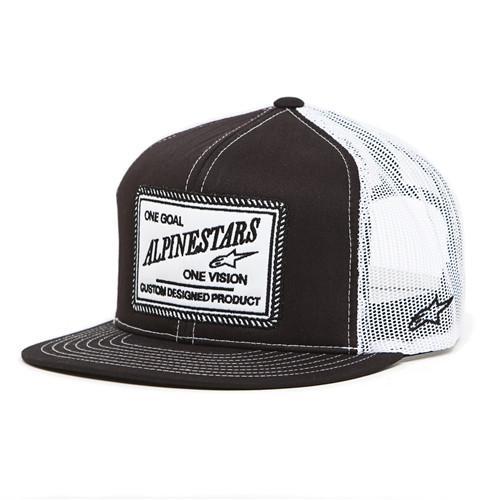 Alpinestars Crasher Trucker Hat - Black - Men s Hat +Larger Button ... 11f49bd933a