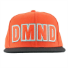 Diamond DMND Felt Embroidered Snapback - Orange - Men's Hat
