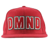Diamond DMND Felt Embroidered Snapback - Red - Men's Hat