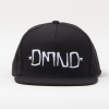 Diamond DMND Snapback - Black/White - Men's Hat