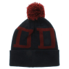 Diamond DMND Snow Pom - Navy/Red - Men's Beanie
