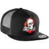 Powell Peralta Ripper Flex-Fit Trucker - Black - Men's Hat